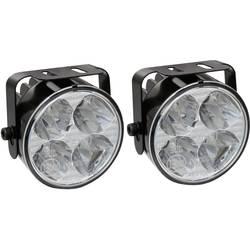 LED světla pro denní svícení Devil Eyes, 610759, 4 LED - LED světla pro denní svícení, kulaté, 4 LED