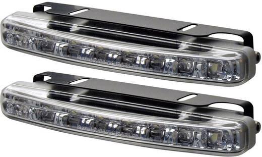 Positionslicht LED (B x H x T) 156 x 25 x 39 mm Devil Eyes 610762 Lampa pozycyjna LED z 8 diodami, wygięta