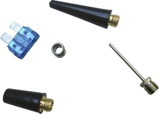 03:12:012 Kompressor 10 bar mit Arbeitslampe, Analoges Manometer, Überlastungsschutz, Aufbewahrungs-Box/-Tasche
