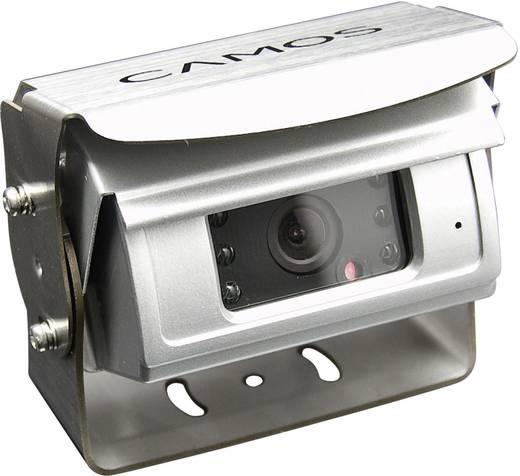 Kabel-Rückfahrkamera CM-46 Camos Shutter, Blendenautomatik, Automatischer Weißabgleich, integrierte Heizung, integriertes Mikrofon, IR-Zusatzlicht Aufbau Silber