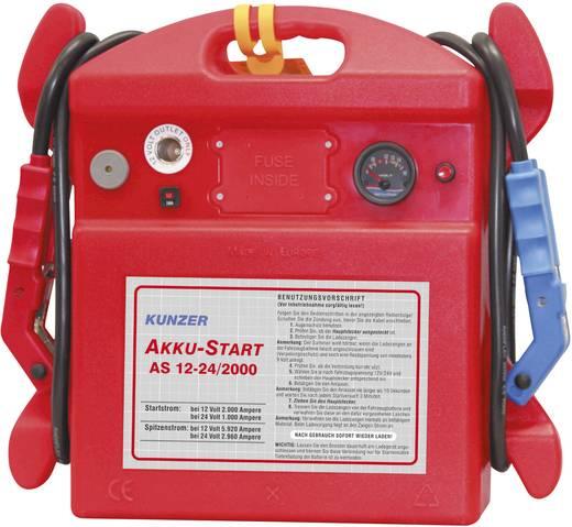 Kunzer Schnellstartsystem AS 12-24/2000 Starthilfestrom (12 V)=2000 A Starthilfestrom (24 V)=1000 A
