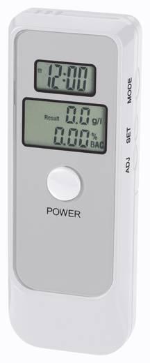 AT 6389ET Alkoholtester 0 bis 1.9 ‰ inkl. Display, Verschiedene Einheiten anzeigbar, Uhr, Temperaturanzeige, Countdown