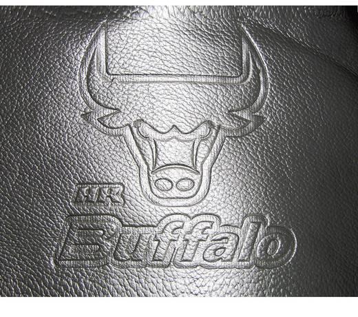 Sitzbezug 11teilig Eufab 28288 Buffalo Kunstleder Schwarz, Grau Rücksitz, Fahrersitz, Beifahrersitz