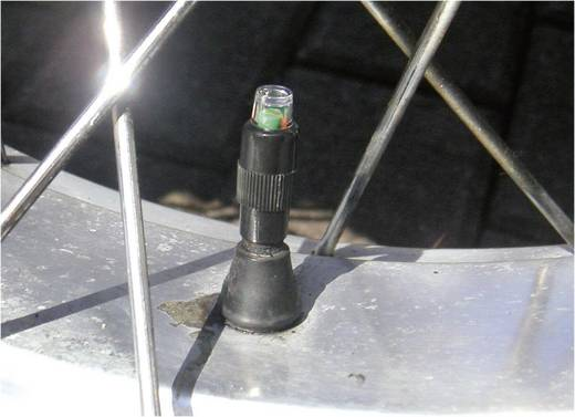 Reifendruckverlustanzeige BA02 inkl. 2 Sensoren BAAS