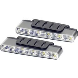 LED světla pro denní svícení Devil Eyes, 610764, 5 LED - LED světla pro denní svícení Devil Eyes, bílá skla - LED světla pro denní svícení Devil Eyes, bílá skla