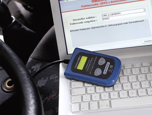 Kraftfahrzeug-Diagnosegerät OBD II cartrend 80234 Ausführung (allgemein) OBD II Servicegerät Geeignet für alle Fahrzeuge mit OBD II Buchse