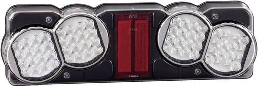 LED LKW-Rückleuchte Blinker, Bremslicht, Rückleuchte, Rückfahrscheinwerfer hinten, rechts 24 V SecoRüt Klarglas