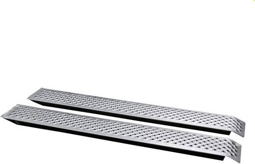 Auffahrrampe 400 kg Starr, gerade Aluminium Unitec 150 cm x 21.5 cm x 3.5 cm