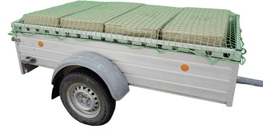 Anhängernetz (L x B) 4 m x 3 m 25166 25166