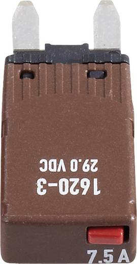 Sicherungsautomat Mini Flachsicherung 7.5 A Braun 1620-3-7,5A 1620-3-7,5A 1 St.