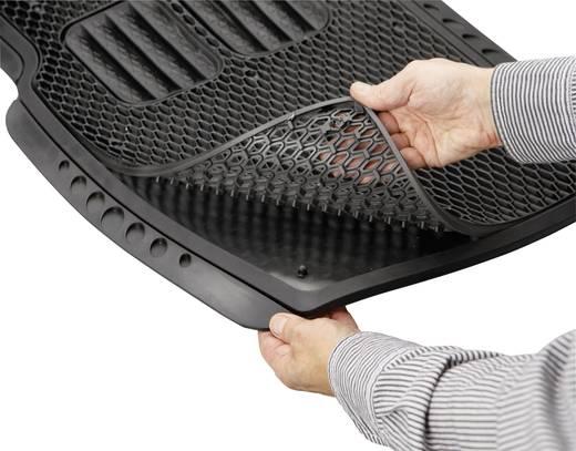 Fußschalenmatte Universal Gummi (L x B) 72 cm x 50.5 cm Schwarz 74933