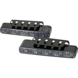 LED světla pro denní svícení Devil Eyes, 610765, 5 LED - LED světla pro denní svícení Devil Eyes, černá skla - LED světla pro denní svícení Devil Eyes, černá skla