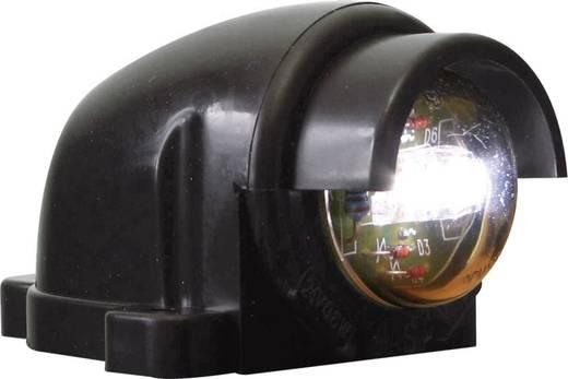 LED Kennzeichenleuchte Kennzeichenleuchte hinten 12 V, 24 V SecoRüt Klarglas