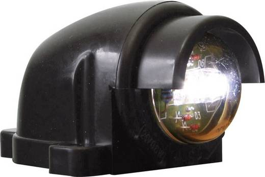 SecoRüt LED Kennzeichenleuchte Kennzeichenleuchte hinten 12 V, 24 V Klarglas