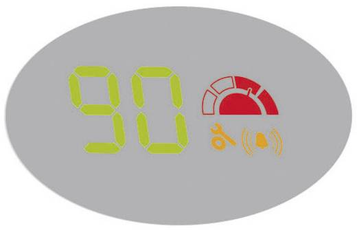 Sichtfeldanzeige/Headup-Display Valeo 632051 632051 78 mm x 19 mm x 48 mm selbstklebend, Geschwindigkeits-Anzeige, mit G