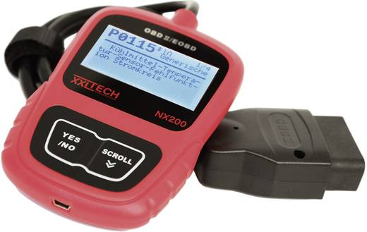 Kraftfahrzeug-Diagnosegerät NX200 XXL Tech KWP2100 Geeignet für alle Fahrzeuge mit OBD II Buchse