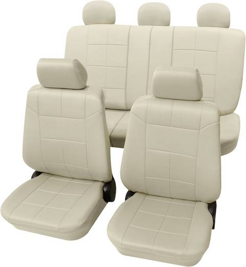 Petex 22574909 Dakar SAB 1 Vario Plus Sitzbezug 17teilig Polyester Beige