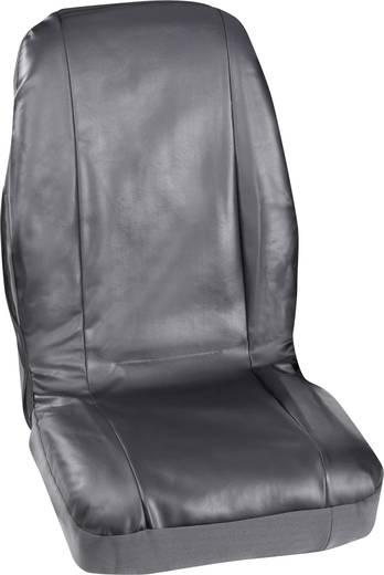 Sitzbezug 4teilig Petex 3007004 Profi 4 Kunstleder Schwarz Fahrersitz, Beifahrersitz