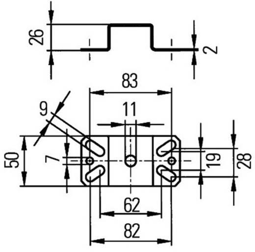 Halter Hella Support magnétique pour lampe projecteur.
