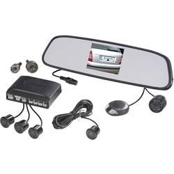 Rádiový video systém na cúvanie s 8,5 cm TFT v zrkadle a 4 parkovacími senzormi