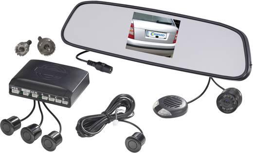 SB885-4-T35 Funk-Rückfahrvideosystem Abstandshilfslinien, IR-Zusatzlicht, Im Rückspiegel integriert Aufbau