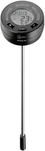 Sunartis 5-9000 Grill-Thermometer Alarm, Automatisches Abschalten, Überwachung der Kerntemperatur Schwein, Rind, Lamm, K