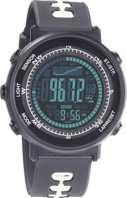 Outdoorové hodinky s predpoveďou počasia Weather Master 8, čierna
