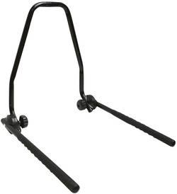 Nástěnný držák na jízdní kolo Eufab 16404, ocel, černá