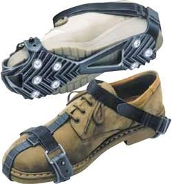 Protiskluzové návleky na boty s 8 hřeby (1 pár)