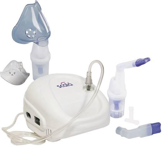 Inhalator Scala SC 145 mit Atemmaske, mit Mundstück, mit Nasenstück