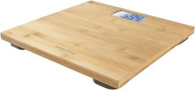 Digitális személymérleg bambusz 180 kg Grundig PS4110