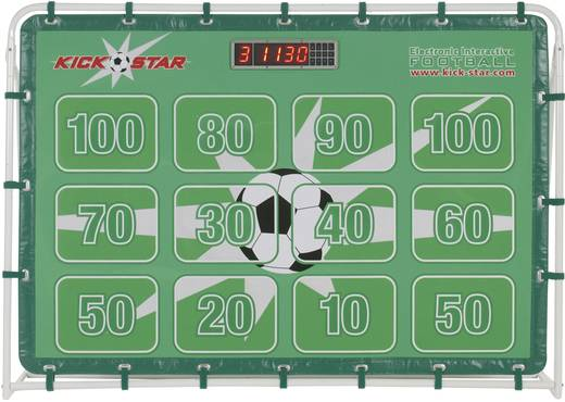 KickStar Hightech Fußballtor Version ll 10001 Fussball Torwand, Tor