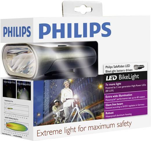 LED Fahrradlampe 80 Lux, schwarz