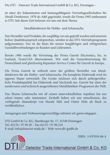 Handbuch für Schatzsucher Garrett 978-3-937-03406-5