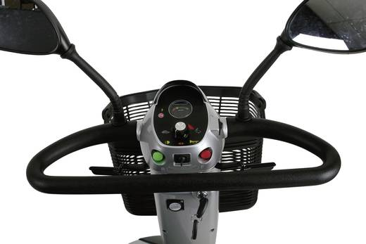 Elektromobil Rolektro eco-Mobil 15 Silber, Schwarz Blei-Gel 24 V 50 Ah