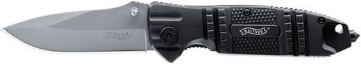 Outdoormesser mit Holster, mit Fangriemen, mit Clip Walther Silver TacKnife STK 5.0717 Schwarz