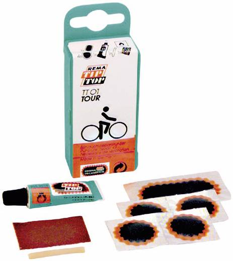 Fahrrad Flickzeug 5teilig Tip-Top TT-01 Tour