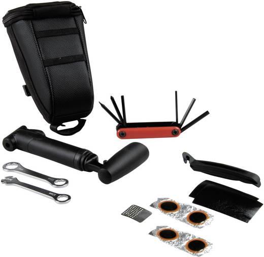 Fahrrad Werkzeug mit Satteltasche 10teilig proFEX 62036