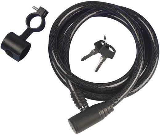 Kabelschloss proFEX 68002 Schwarz Schlüsselschloss