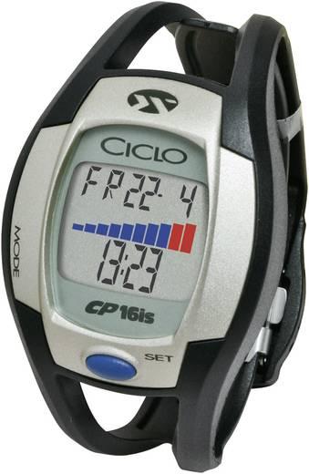 Sportuhr CicloSport CP 16is Codierte Übertragung Schwarz-Silber
