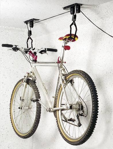 Fahrradlift Deckenlift Anzahl Einstellplätze=1 Eufab 16411 Stahl Schwarz