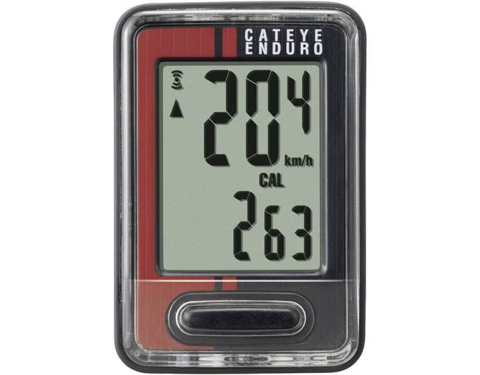 Fahrradcomputer mit Geschwindigkeitsanzeige und Radsensor