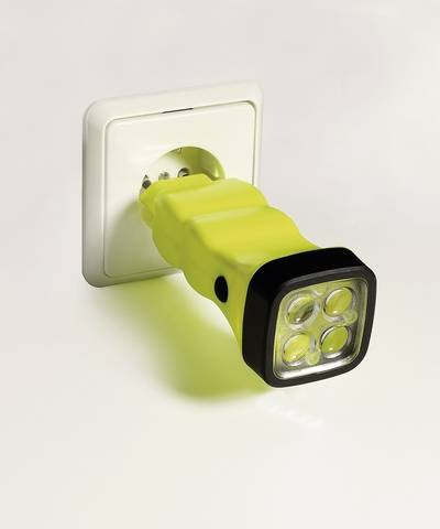 Lampada portatile a batteria Zona Ex: 1, 2, 21, 22 AccuLux Four LED EX 50 m N° Atex: TÜV-A 09 ATEX 0003