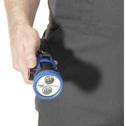 Ručné akumulátorové svietidlo (baterka) AccuLux 459681, N/A, čierna, modrá