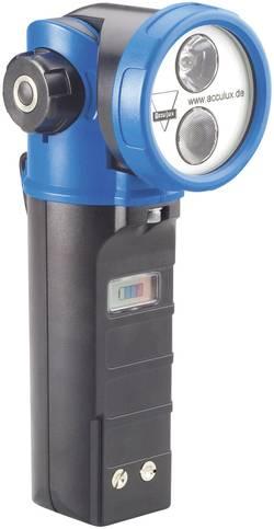 Image of AccuLux 459581 Akku-Handscheinwerfer HL 20 Schwarz-Blau LED 10 h