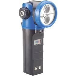Fotografie Ruční svítilna s otočnou hlavou AccuLux HL20 459581, černá/modrá