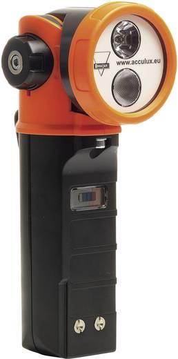 AccuLux Akku-Handscheinwerfer Für EX-Zonen: 1, 2, 21, 22 High Power Cree LED TÜV-A 10ATEX0006 458581 Schwarz, Signal-O