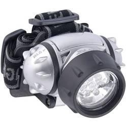 LED čelovka Grundig 38692, na baterii, 120 g, stříbrná