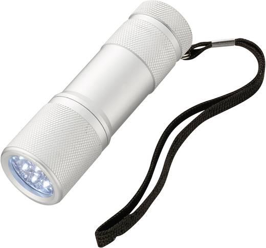 led mini taschenlampe 9 leds alu batteriebetrieben 4 h 64 g kaufen. Black Bedroom Furniture Sets. Home Design Ideas