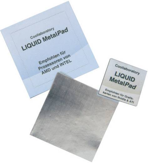 CPU-Kühler passiv CooLaboratory Metal PAD-SET
